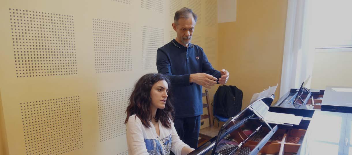 Enrico Pace perfezionamento pianoforte