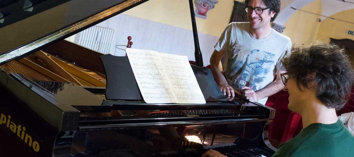 Corso triennale di perfezionamento in pianoforte tenuto da Giovanni Doria Miglietta