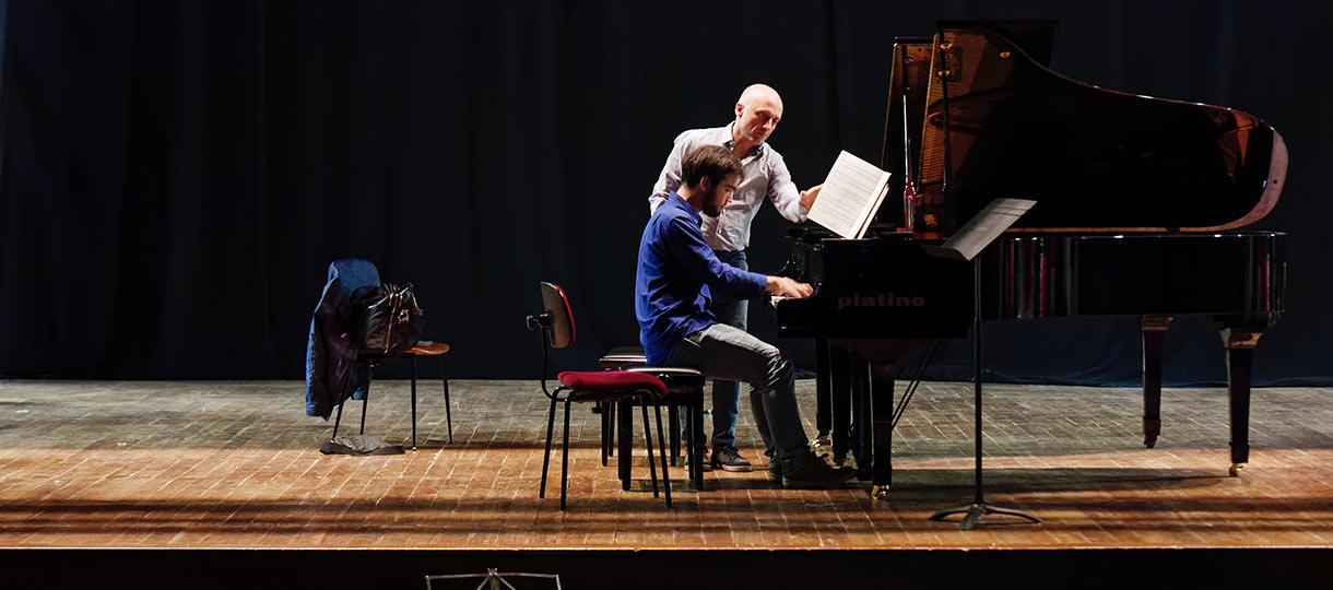 masterclass di pianoforte Musica d'Estate a Bardonecchia ph Vergnano