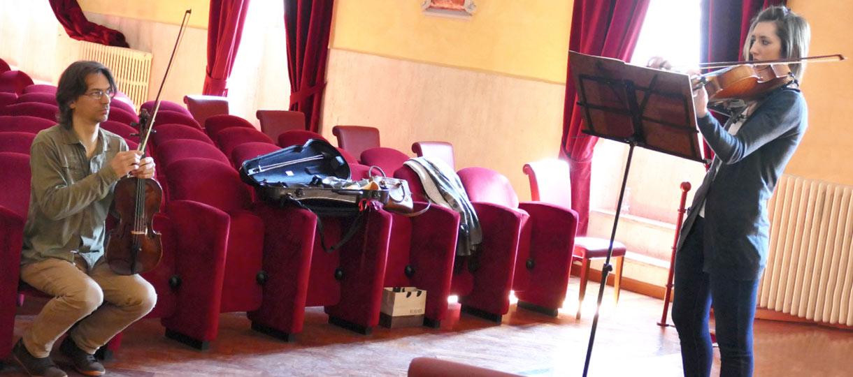 Corso di perfezionamento di viola di Simone Briatore