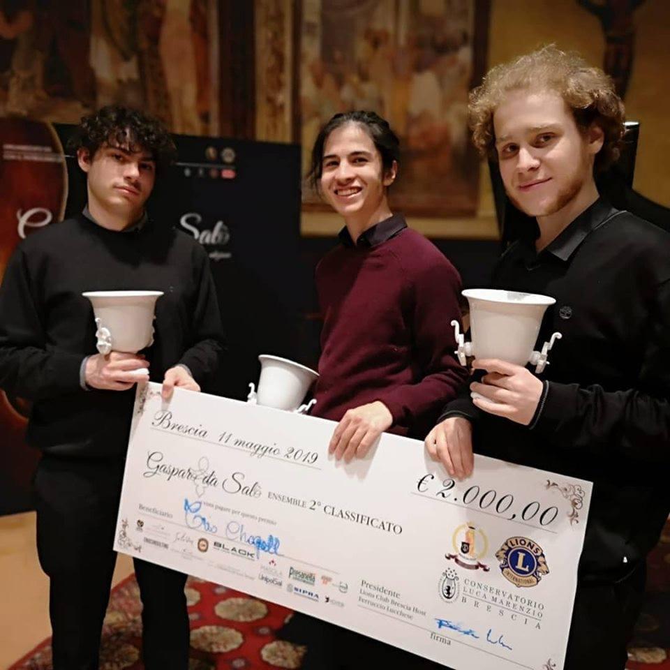 Vincitori 2019 Trio Chagall Gasparo do Salò