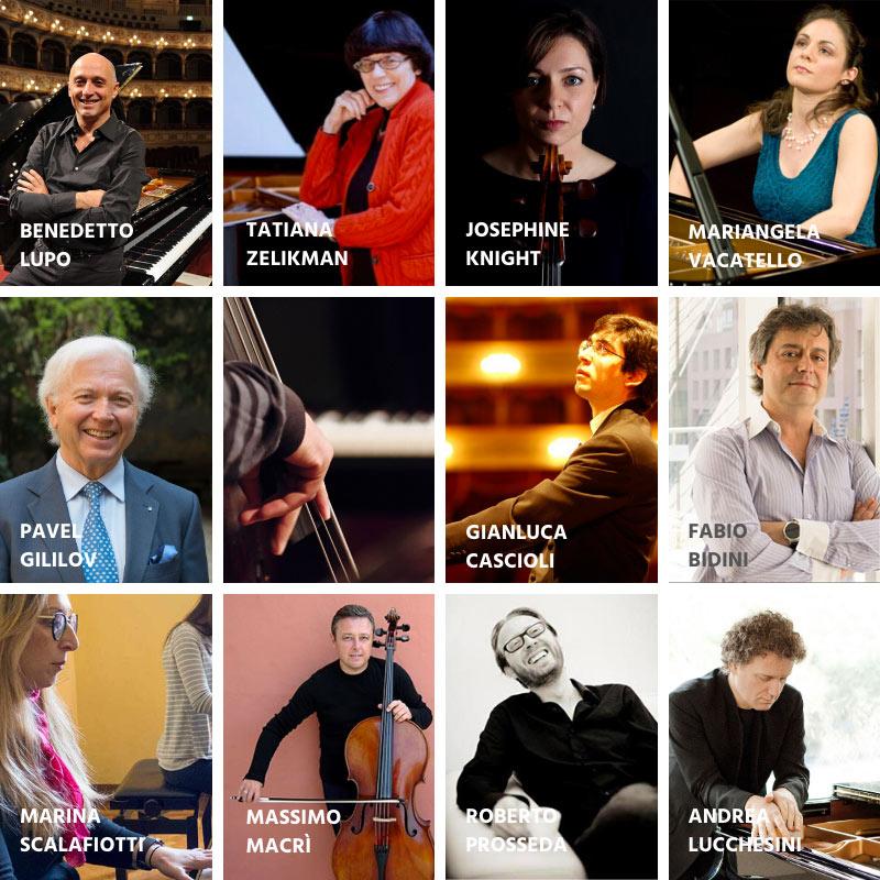 masterclass pianoforte e masterclass violoncello  2019 2020