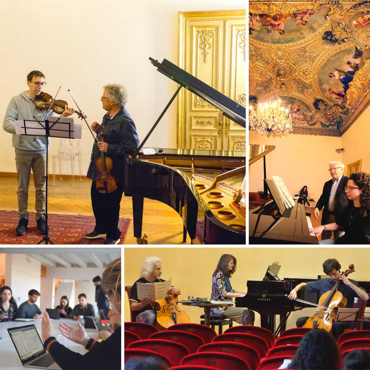 Lezioni di specializzazione musicale in Accademia