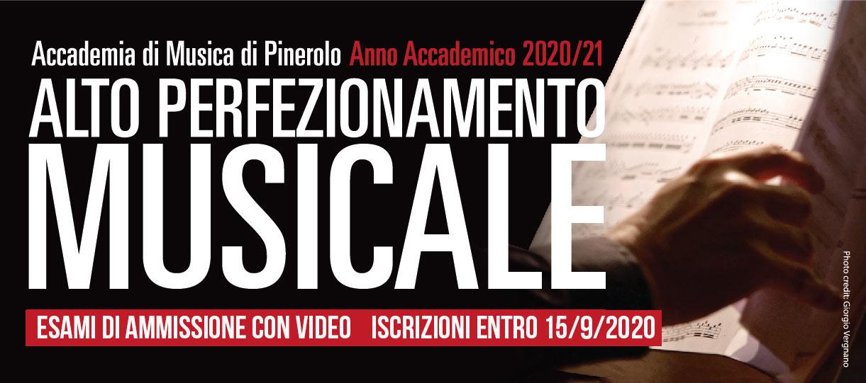 corsi alto perfezionamento pianoforte violino viola violoncello musica da camera 2020-2021 iscrizioni