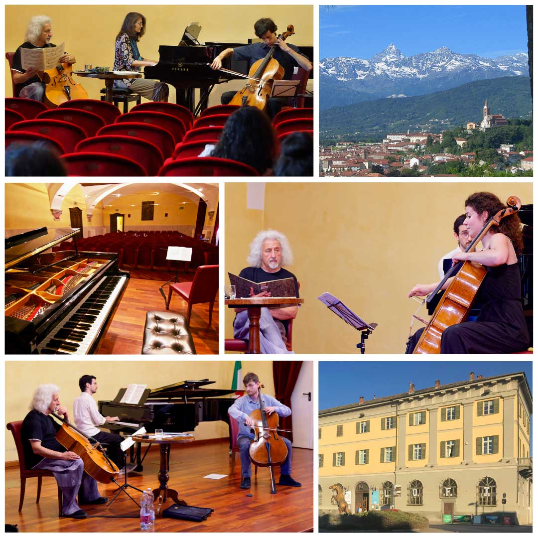 Mischa Maisky lezioni violoncello ph Giorgio Vergnano e Remo Caffaro