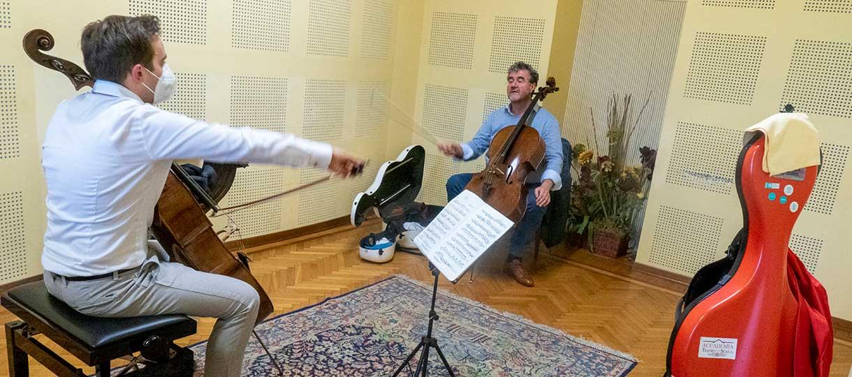 Patrick Demenga Advanced course Cello