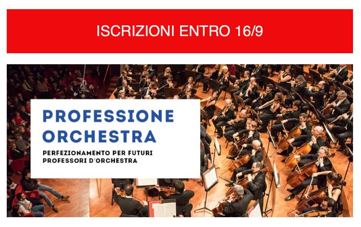 iscrizioni professione orchestra