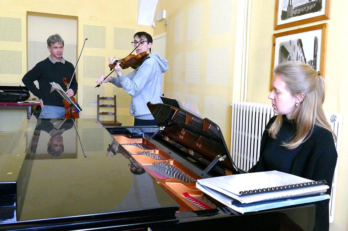 Lukas Hagen violin masterclass