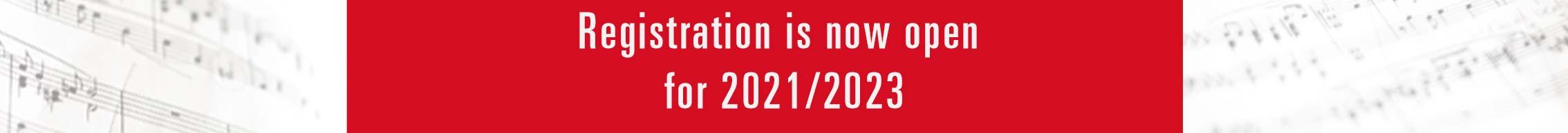 registration open 2021-23