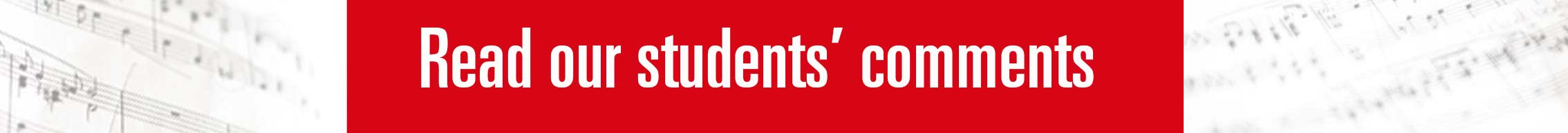 Read our students' comments