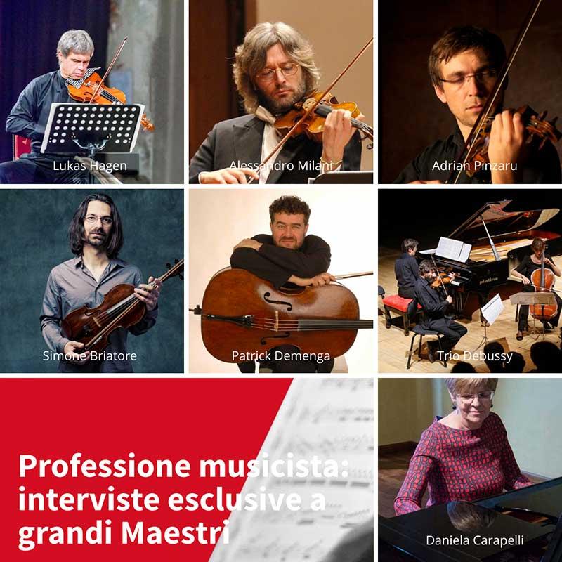 Professione musicista interviste