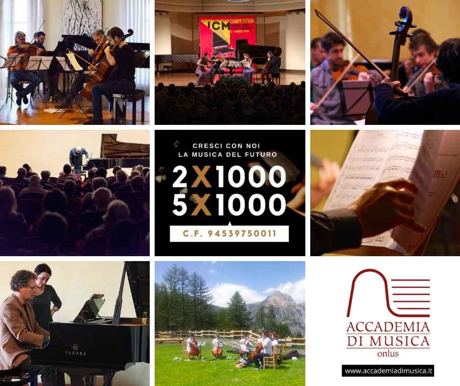 cinque  e due per mille Accademia di Musica