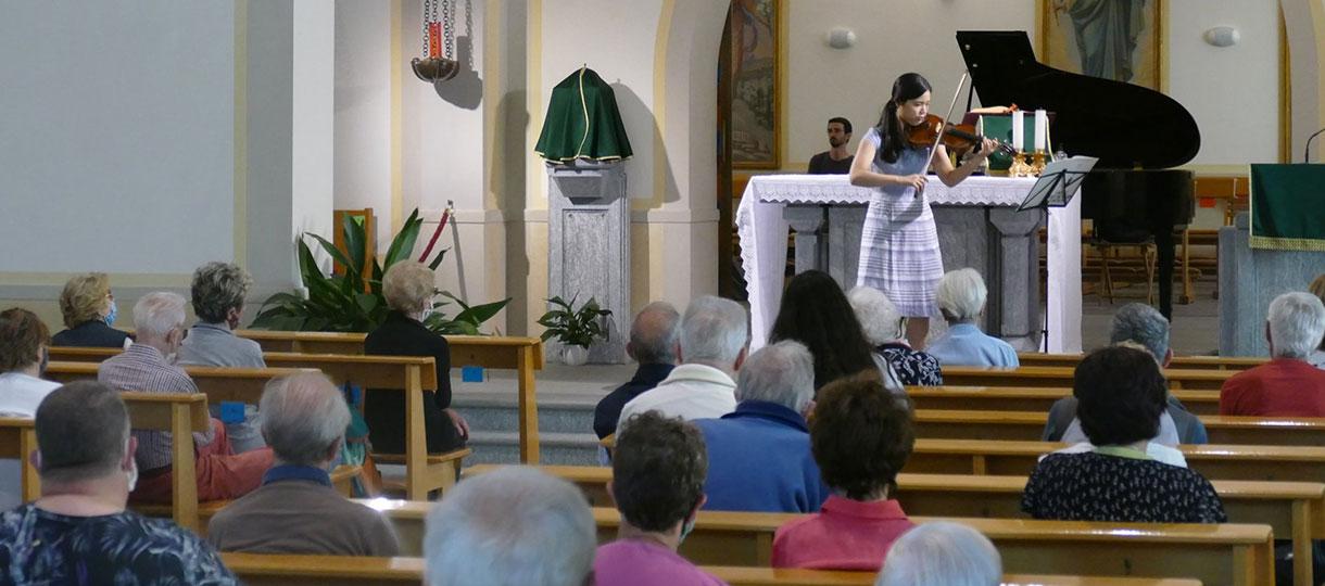 Musica d'Estate concerto Maria Ausiliatrice