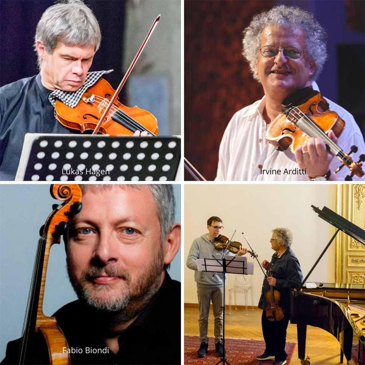 docenti violino specializzazione post conservatorio